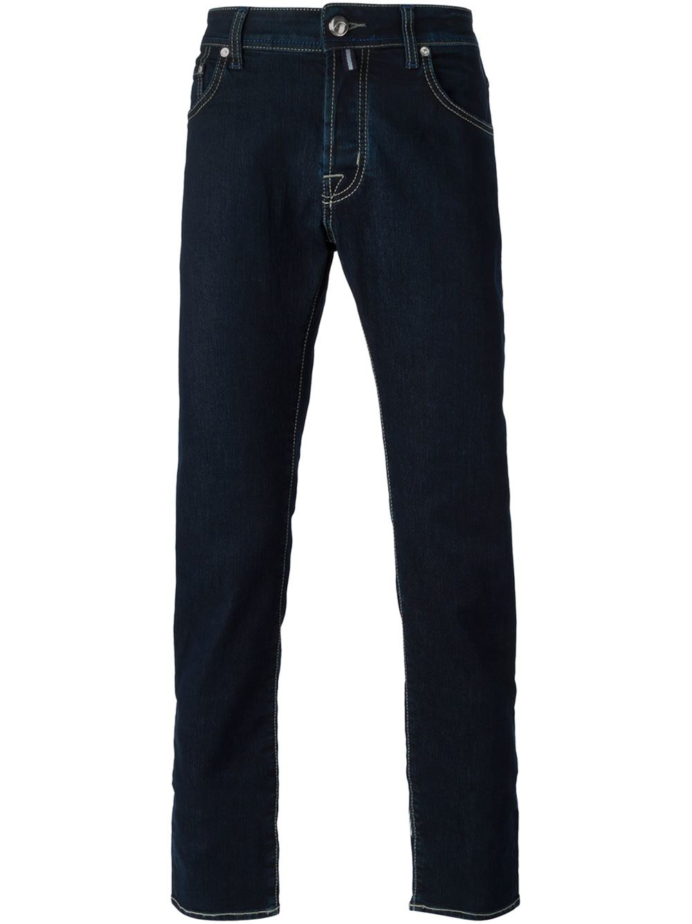 jacob cohen straight leg jeans in blue for men lyst. Black Bedroom Furniture Sets. Home Design Ideas