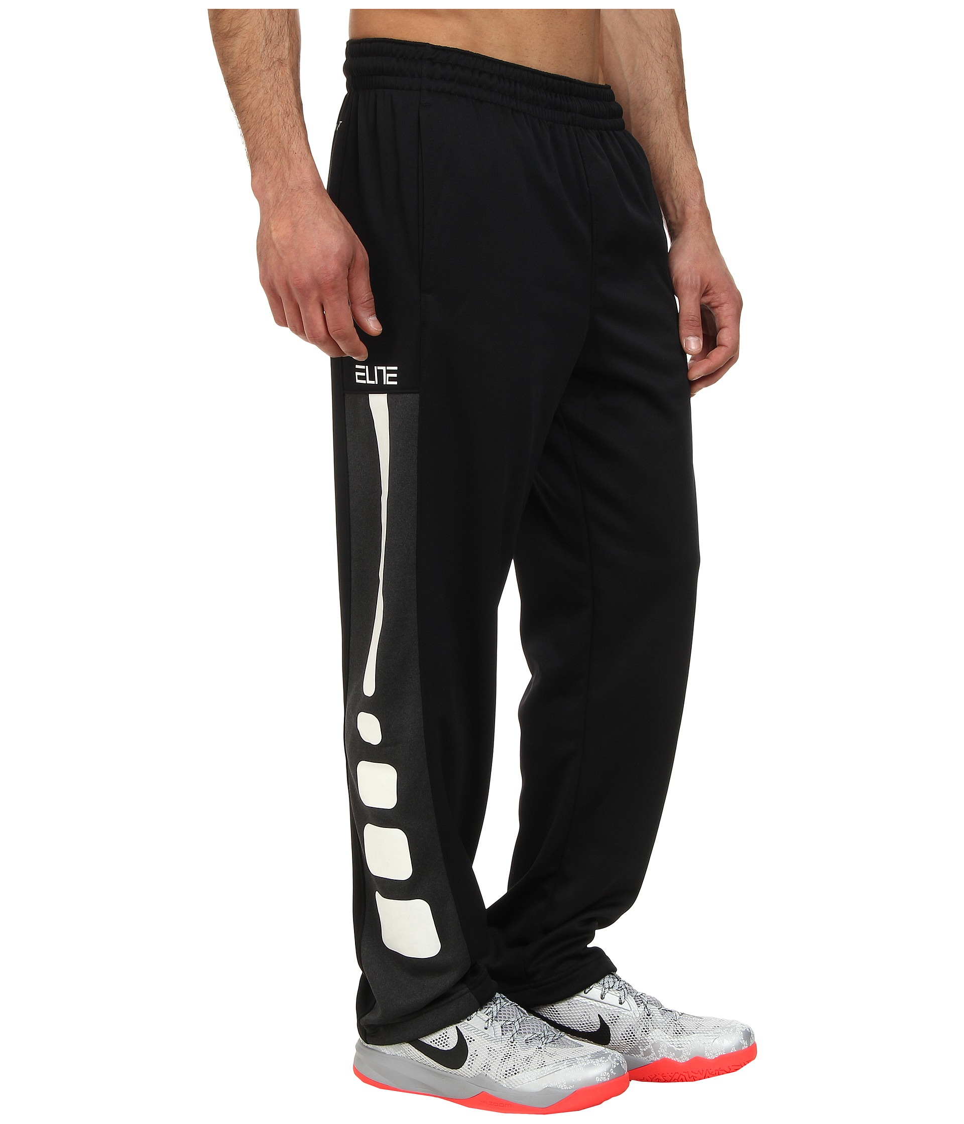fe31024e5397 Lyst - Nike Elite Stripe Performance Fleece Pant in Black for Men
