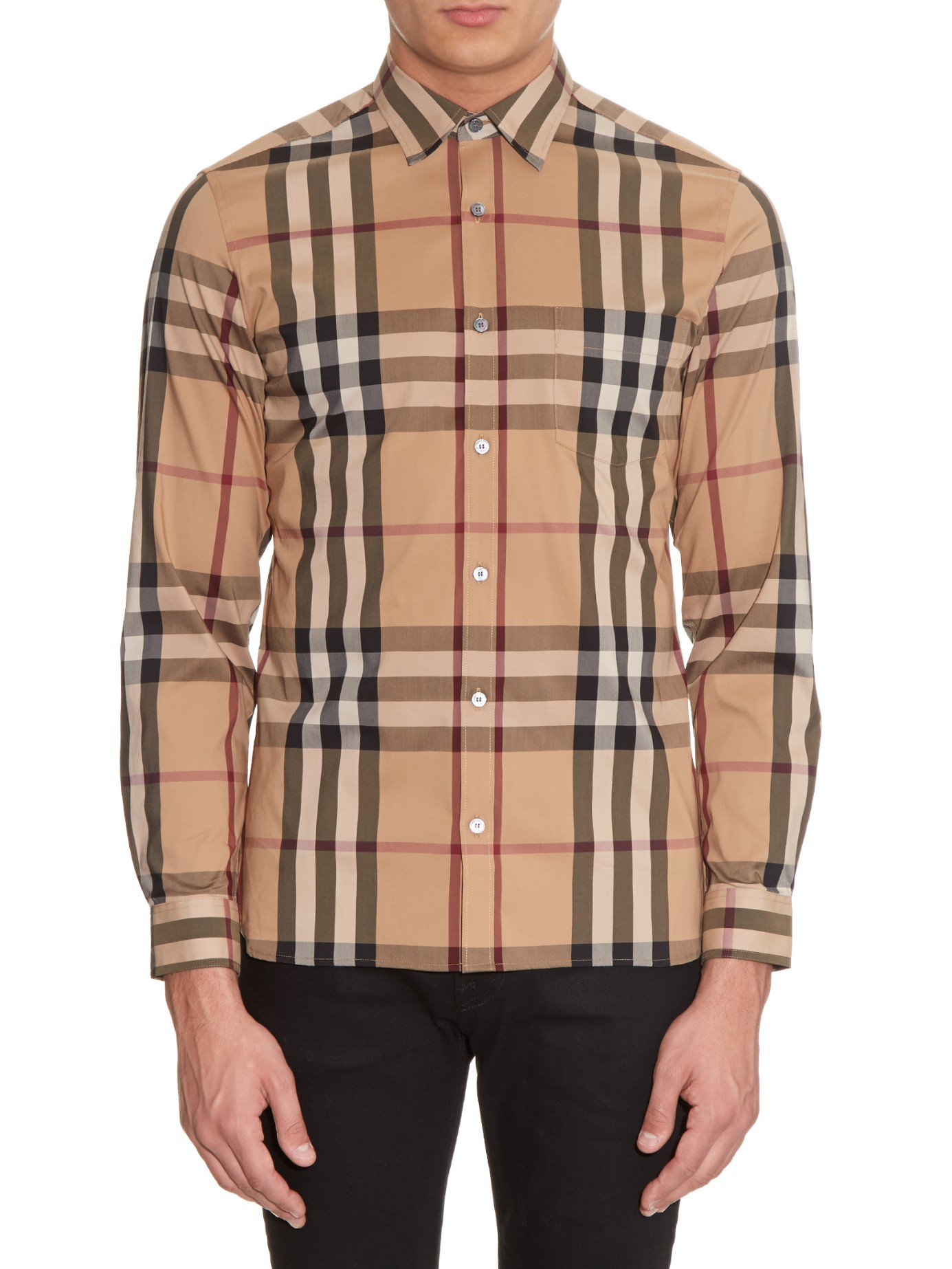 Burberry Mens Dress Shirts Sale Enam T Shirt