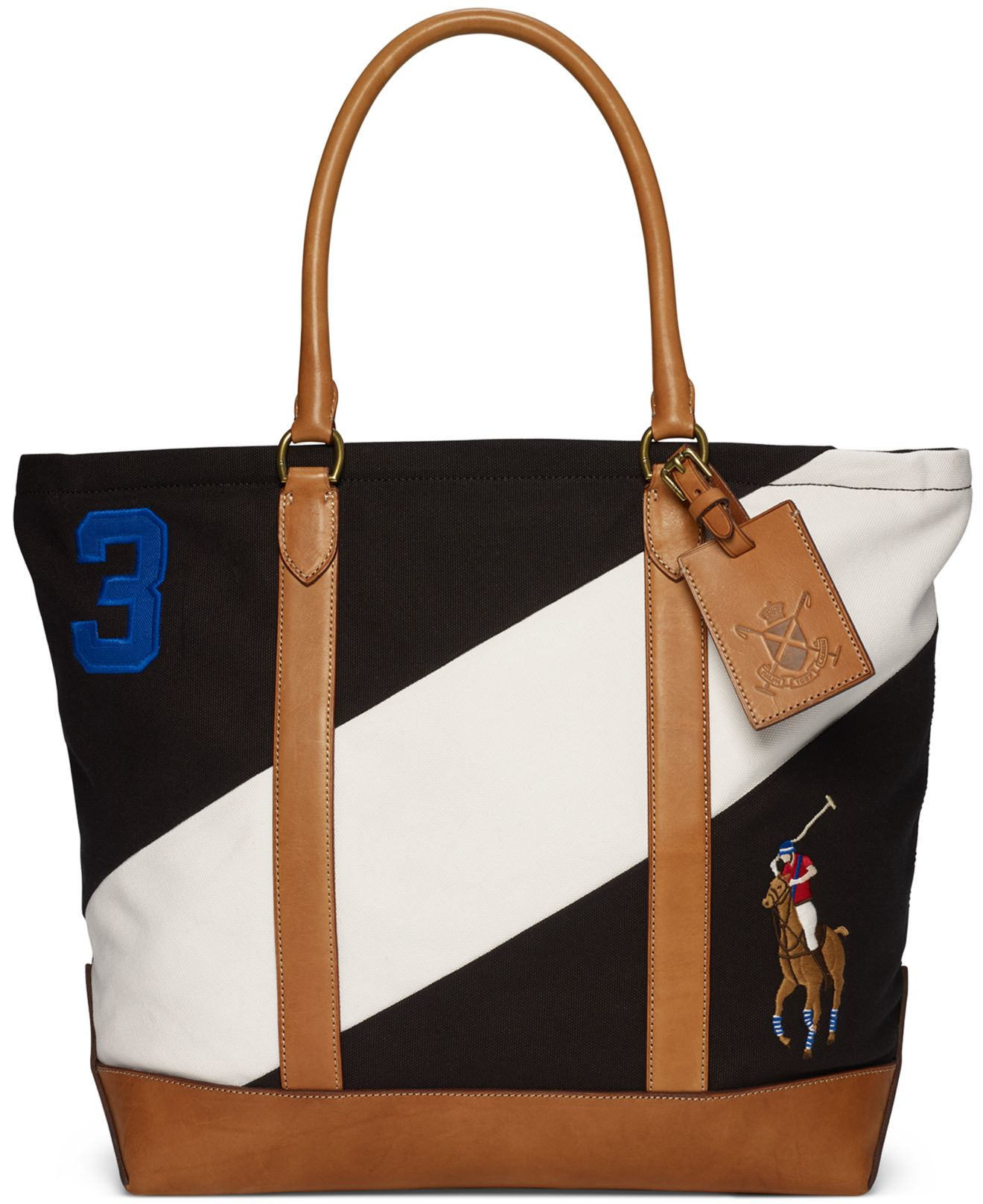 090eabd5fb Polo Ralph Lauren Colorblocked Tote for Men - Lyst