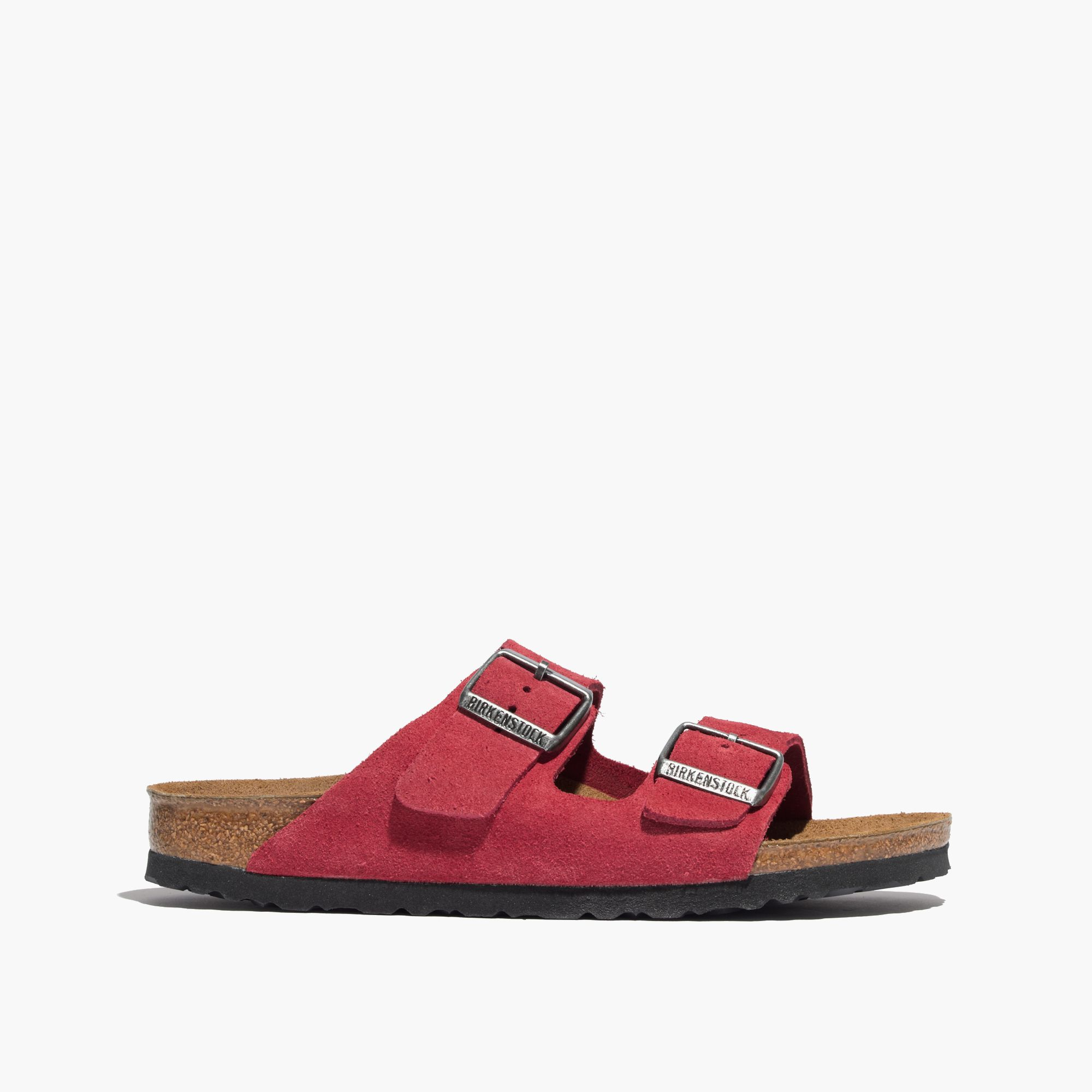 birkenstock arizona barn red