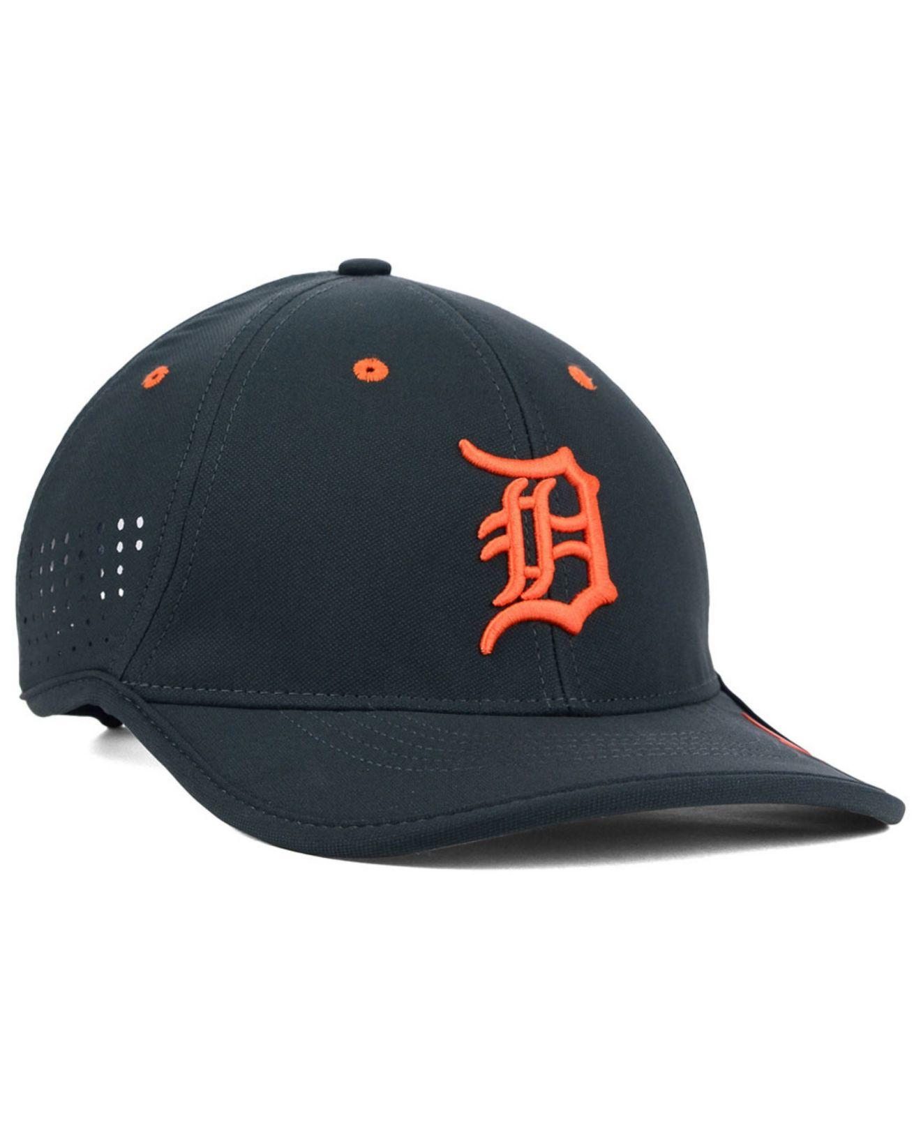 95d4b65de92 ... hat 7ad24 55dcb reduced lyst nike detroit tigers vapor swoosh  adjustable cap in gray for men 56b3b e571e ...