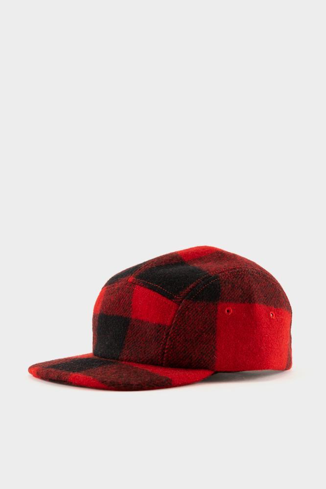5944d5cf8af Filson 5 Panel Cap - Red Black in Red for Men - Lyst