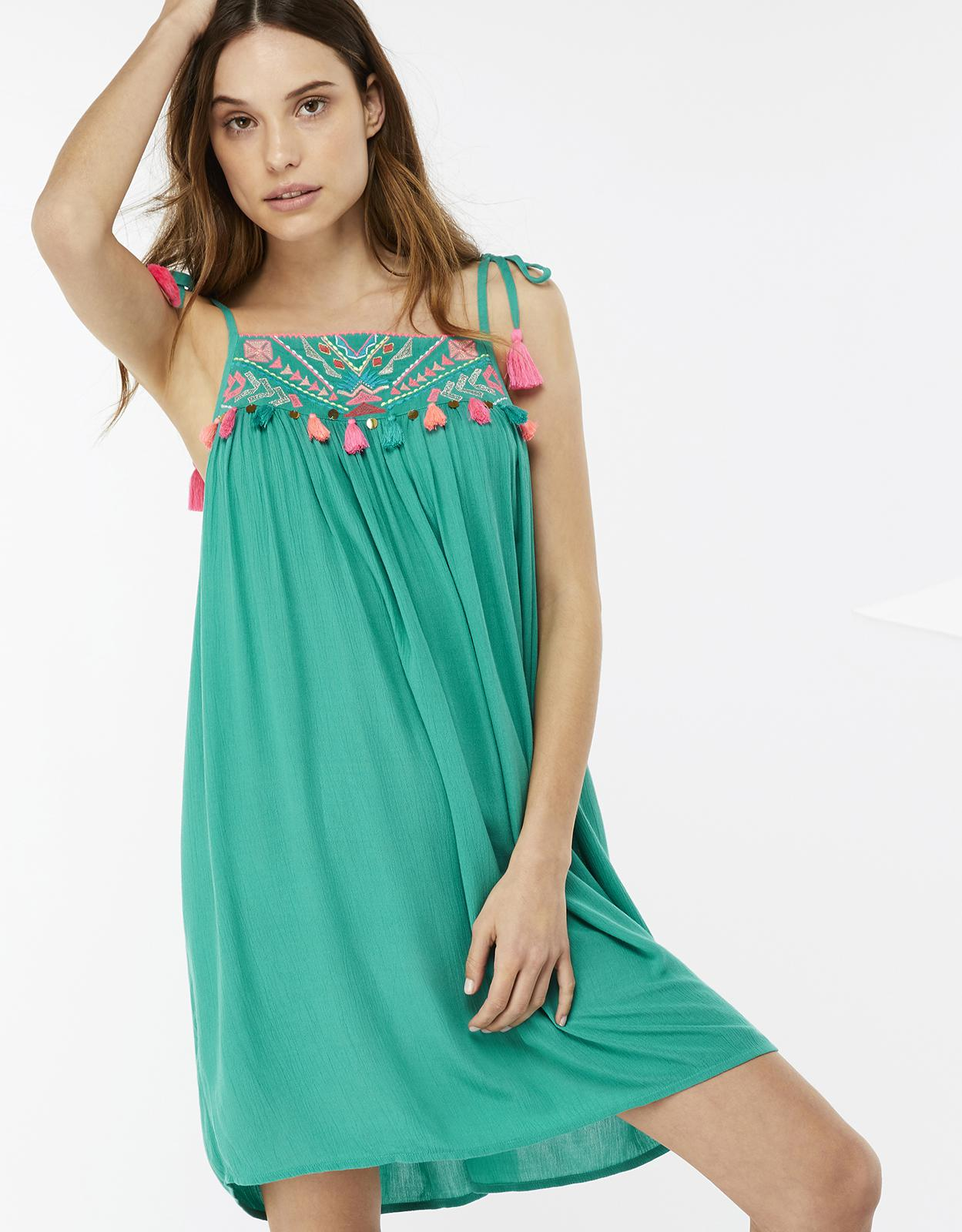Accessorize Aztec Embroidered Dress Shopping Online Cheap Price Sale Discount Pay With Paypal r7AlYepU