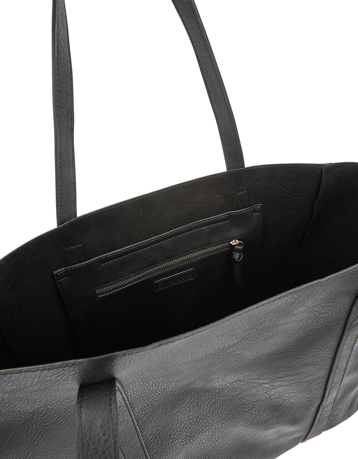 052daa516a Accessorize Oversized Tote Bag in Black - Lyst