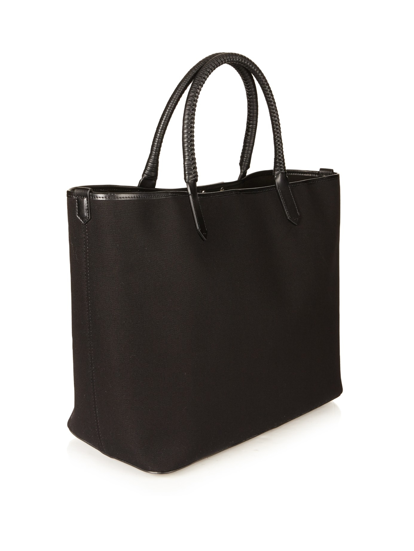 1d0228361245 Givenchy Antigona Large Canvas Tote in Black - Lyst
