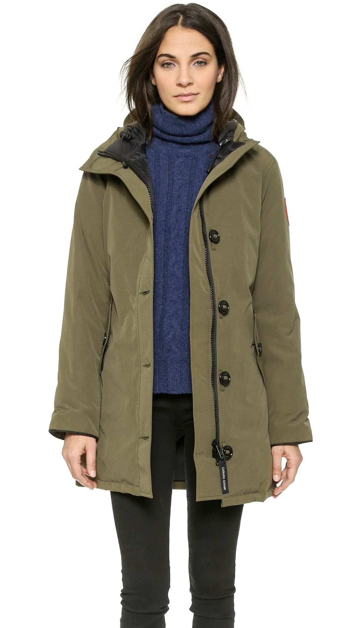 Canada Goose vest replica authentic - Canada goose Camrose Parka in Green (Military Green) | Lyst