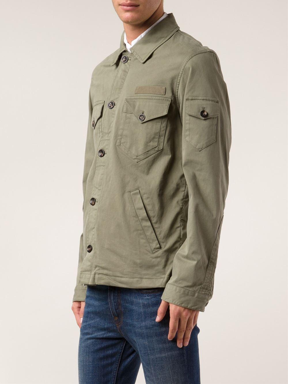 Army Shirt Jacket Fit Jacket