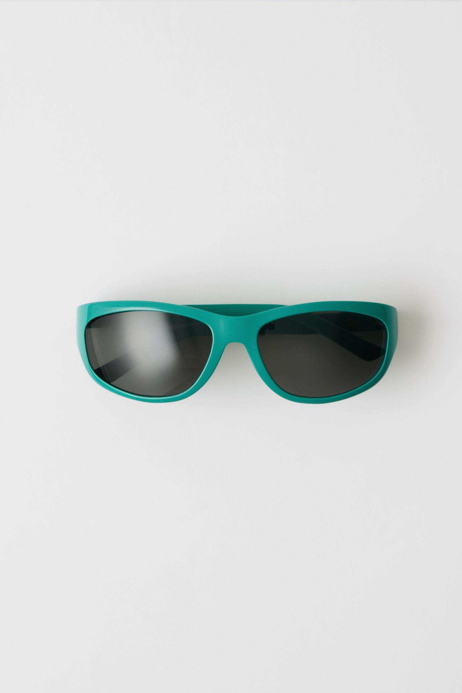 Lou Verde Gafas De Sol De Estudios De Acné Const Azul anLftW7