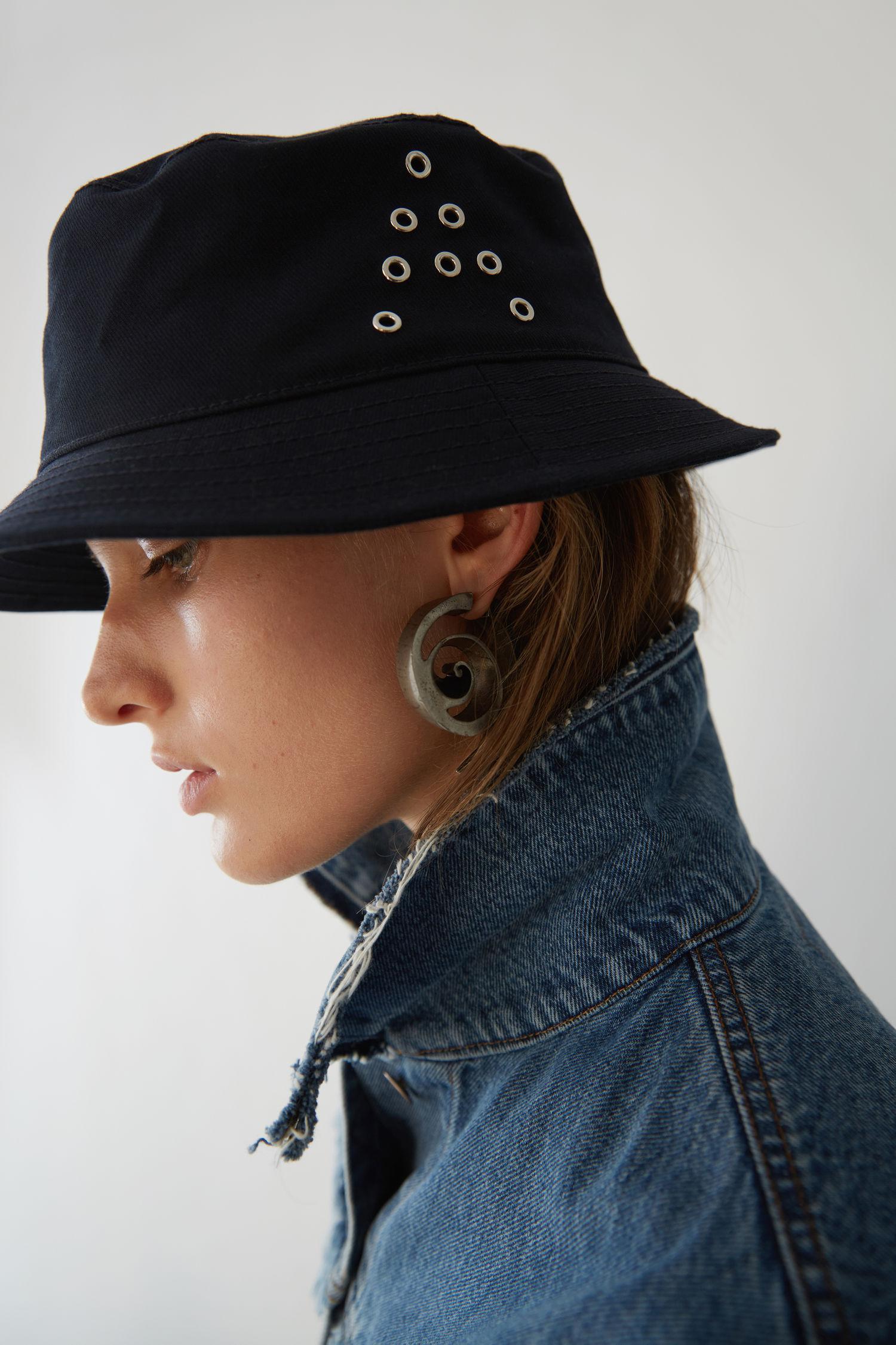 Lyst - Acne Studios Bucket Hat navy in Blue 4127a5952f74