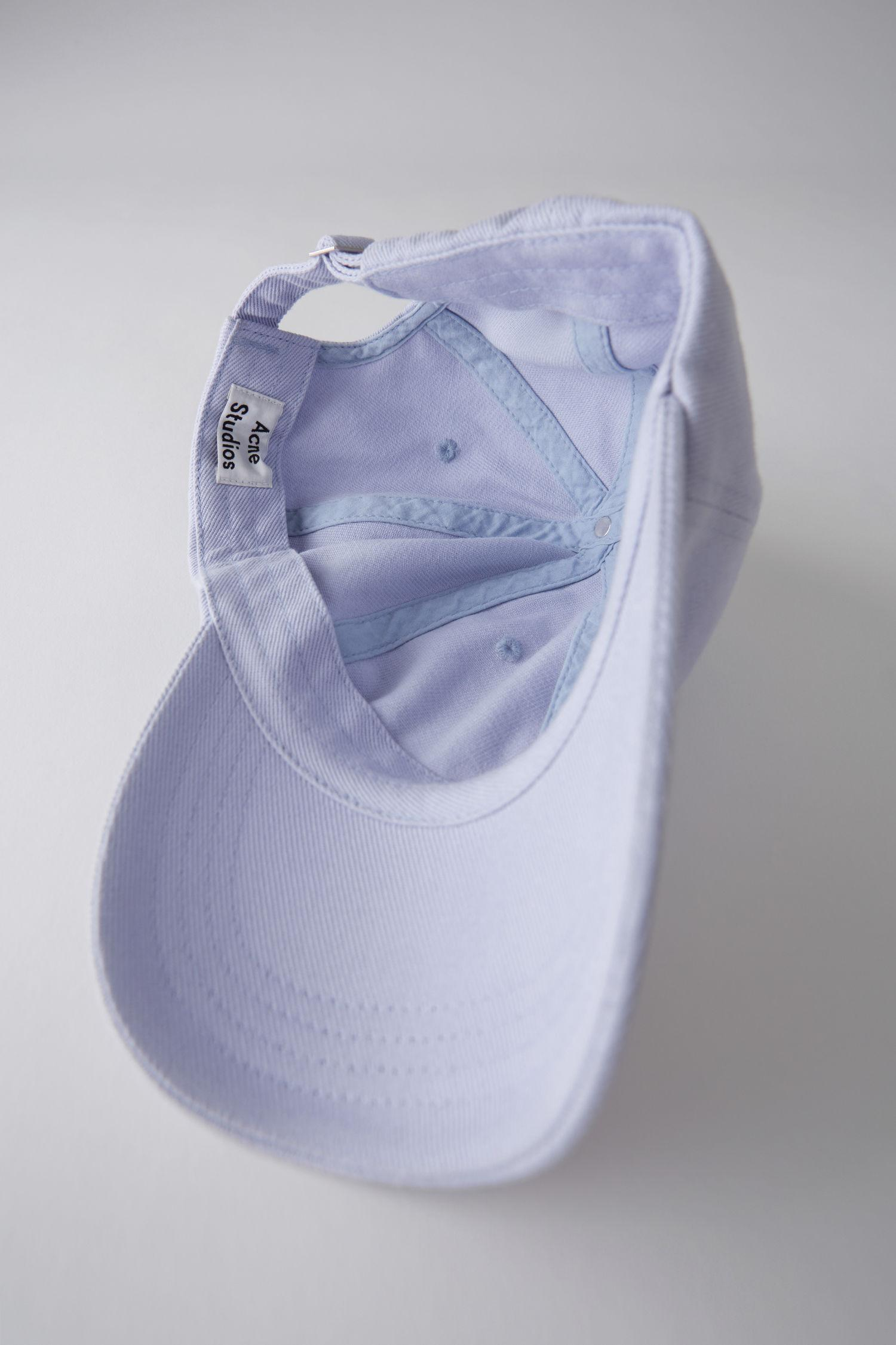 3cff51d77de Acne Studios Baseball Cap lilac in Purple for Men - Lyst