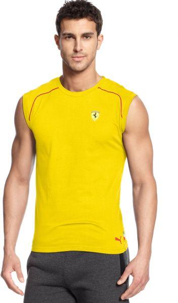 Sleeveless T Shirt Men