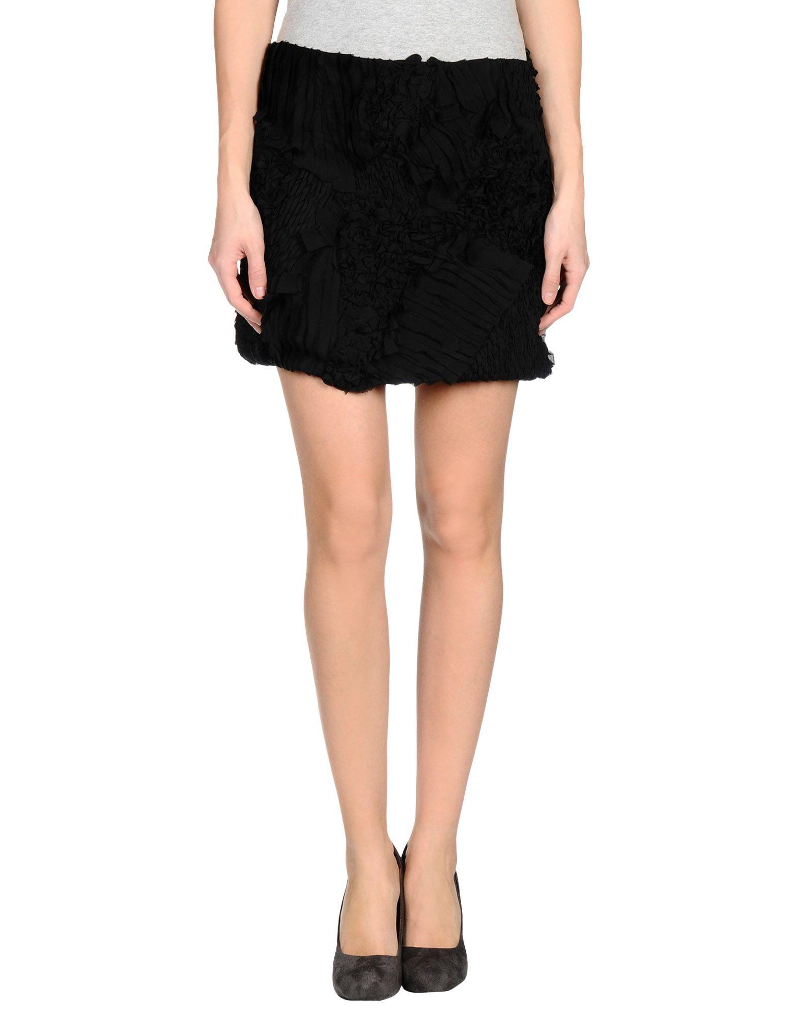 edun mini skirt in black lyst