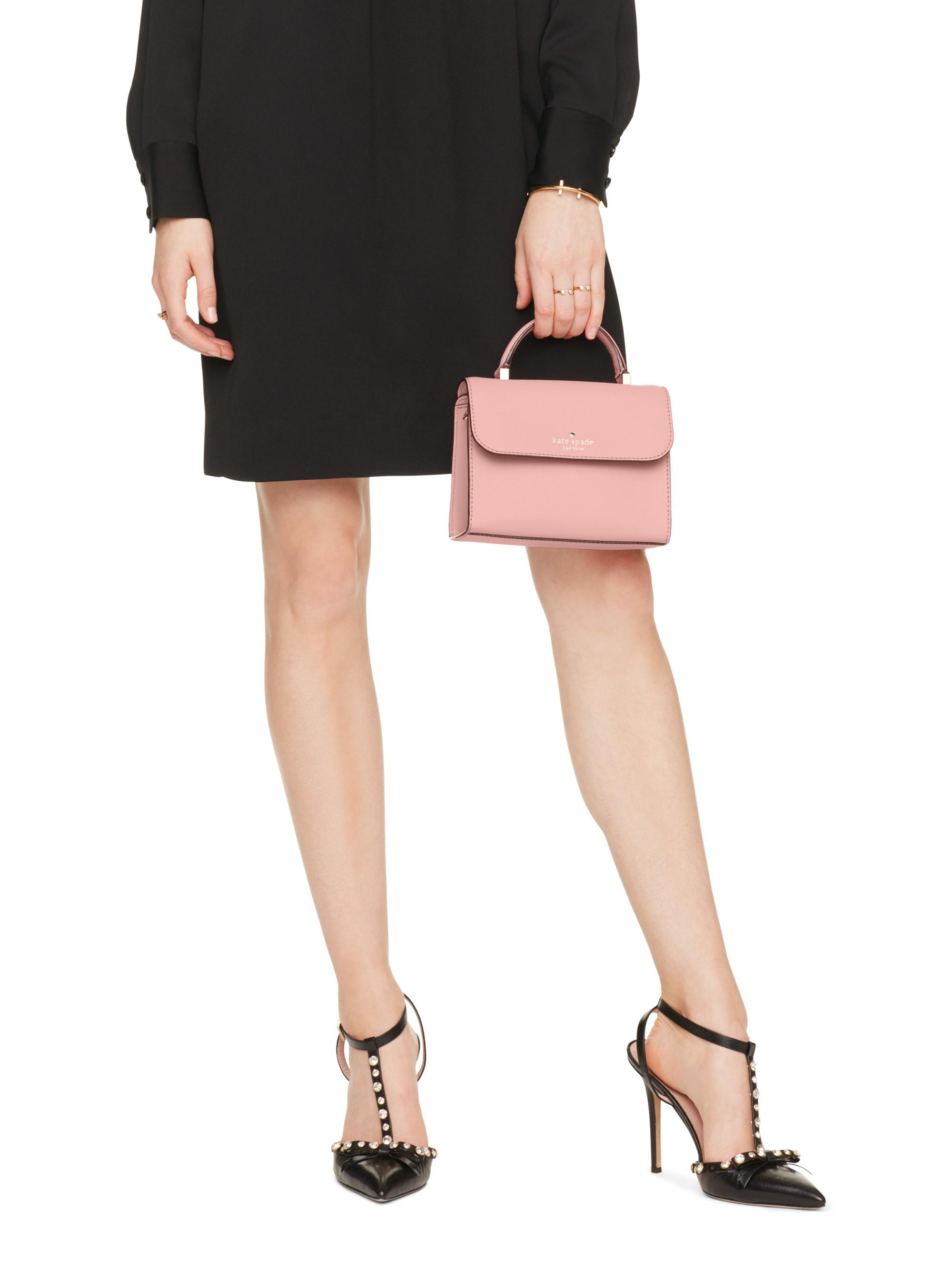 b17a92241917 Lyst - Kate Spade Cedar Street Mini Nora in Pink