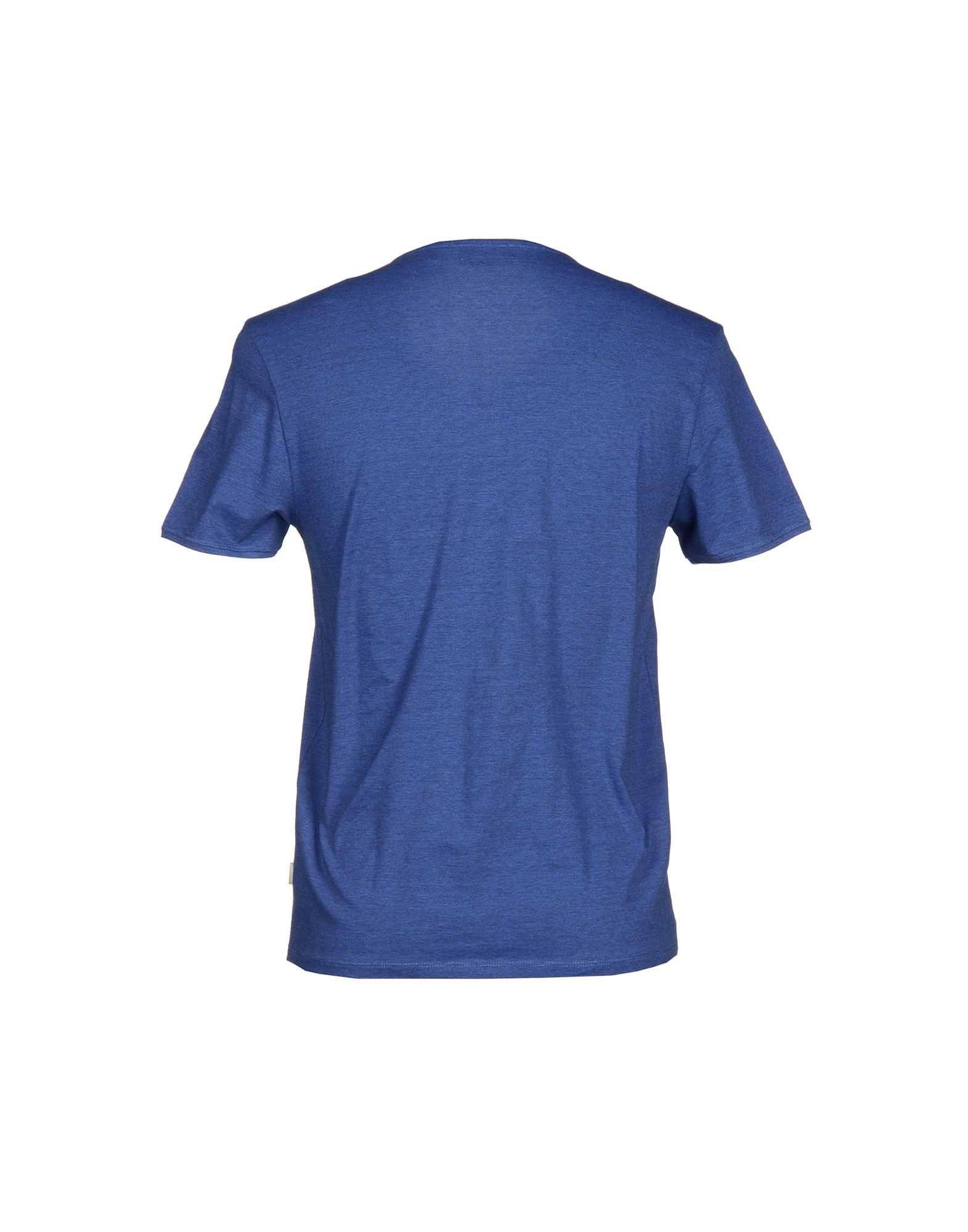 calvin klein t shirt in blue for men lyst. Black Bedroom Furniture Sets. Home Design Ideas