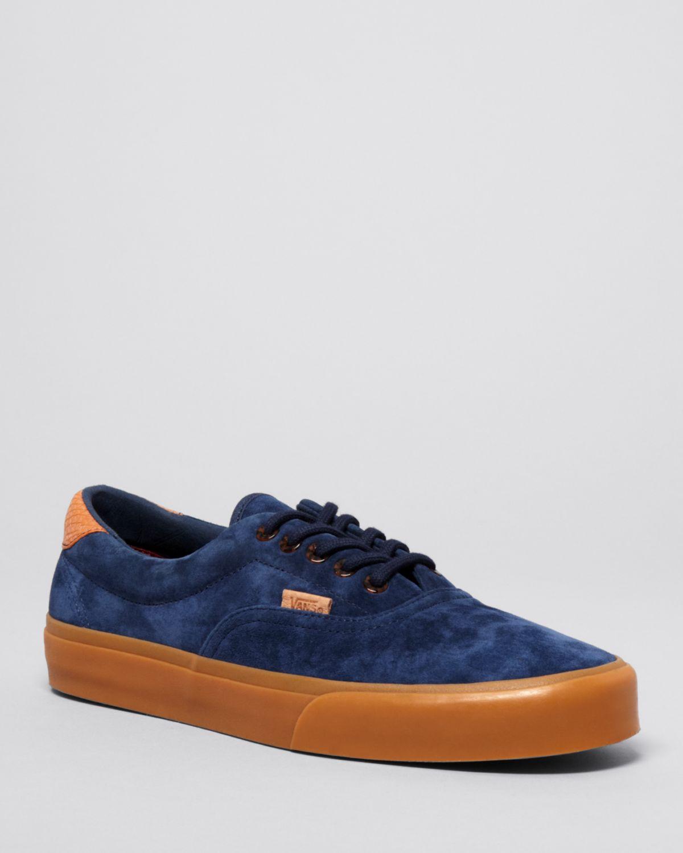 e7b978555b Lyst - Vans Suede Era 59 Gum Sole Sneakers in Blue for Men