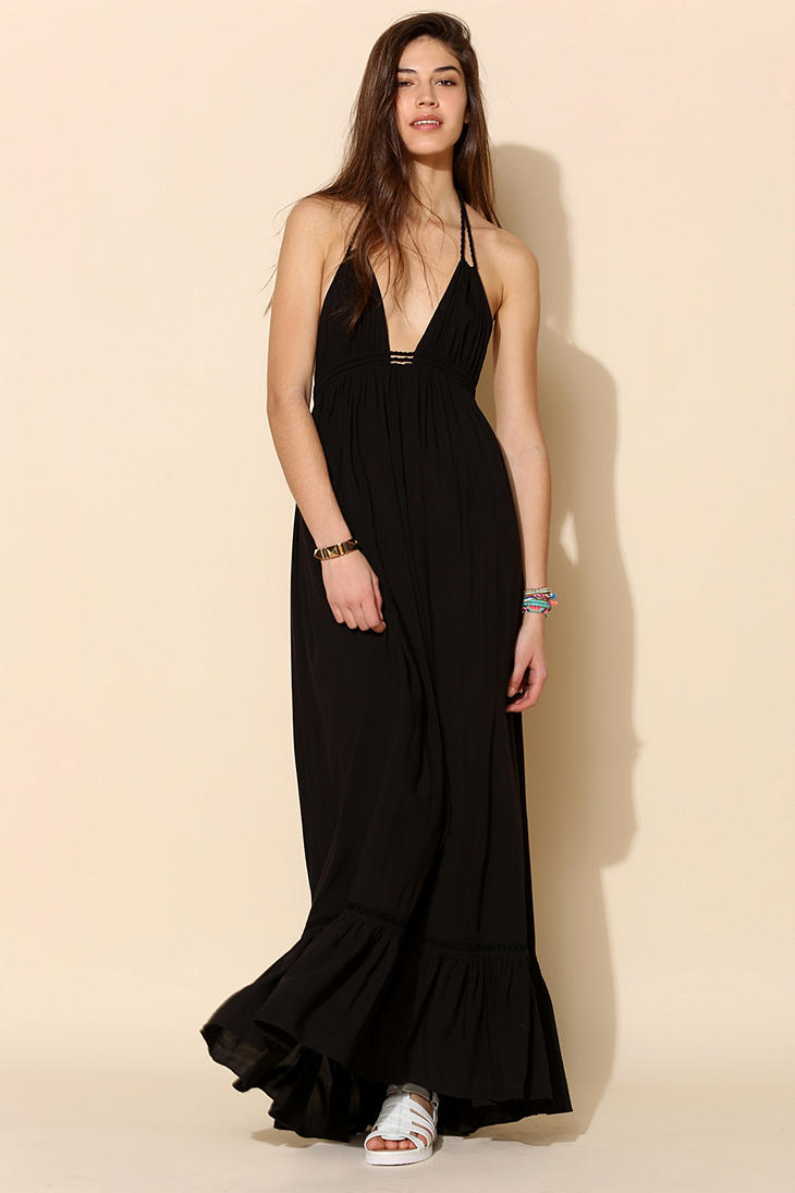 7a283997d9d Urban Outfitters 6 Shore Road Williwood Maxi Dress in Black - Lyst
