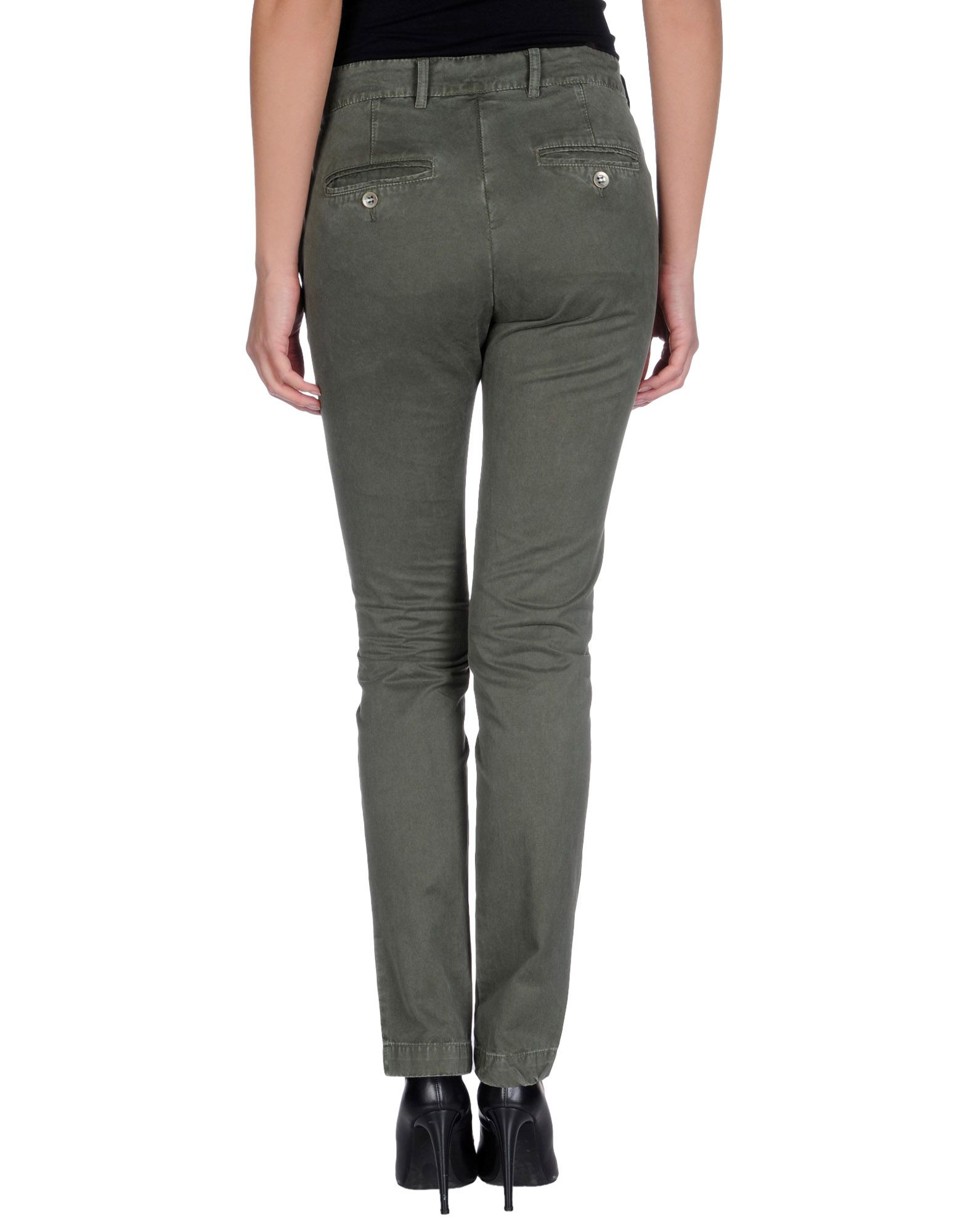 40weft Casual Pants In Green Lyst