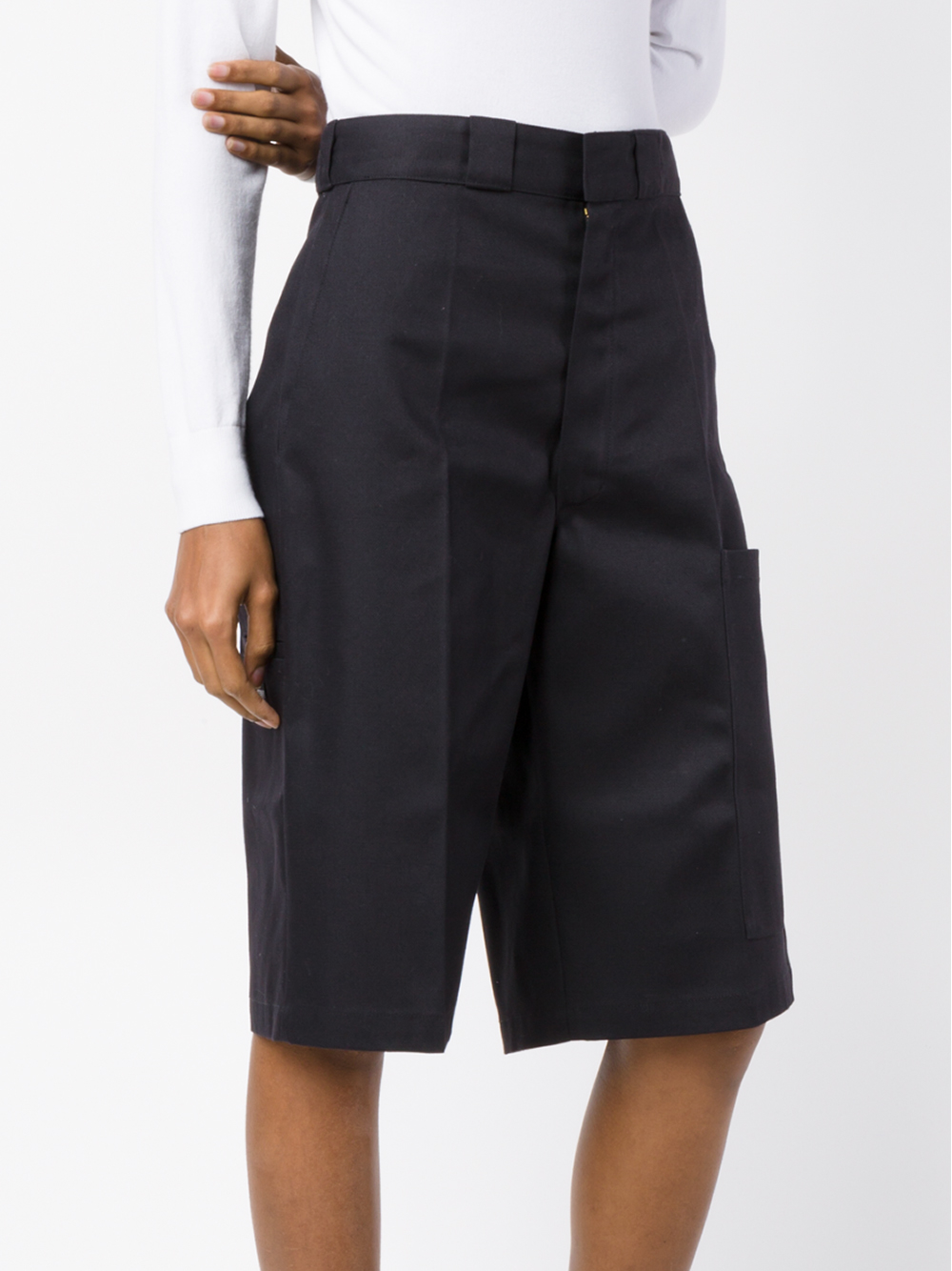 af2dd284e Vetements Knee-length Shorts in Black - Lyst