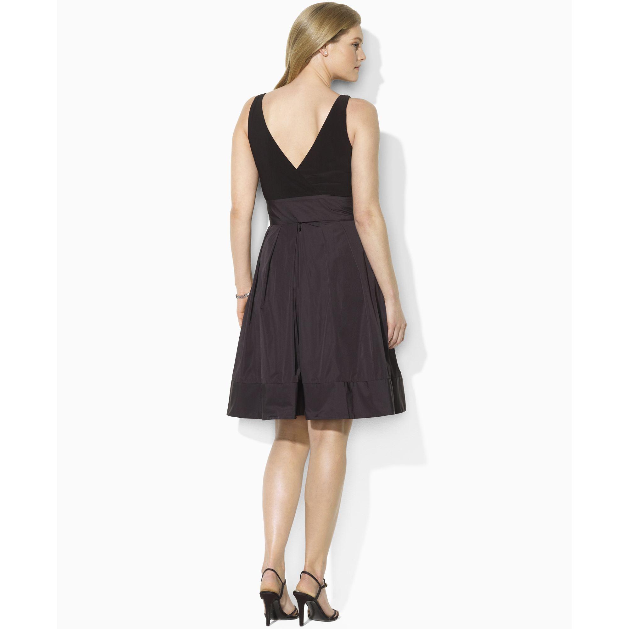 Lauren Pleated Cocktail Dress