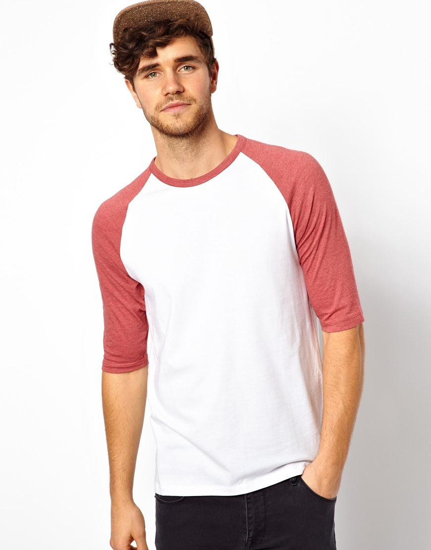 Mens Raglan T Shirts