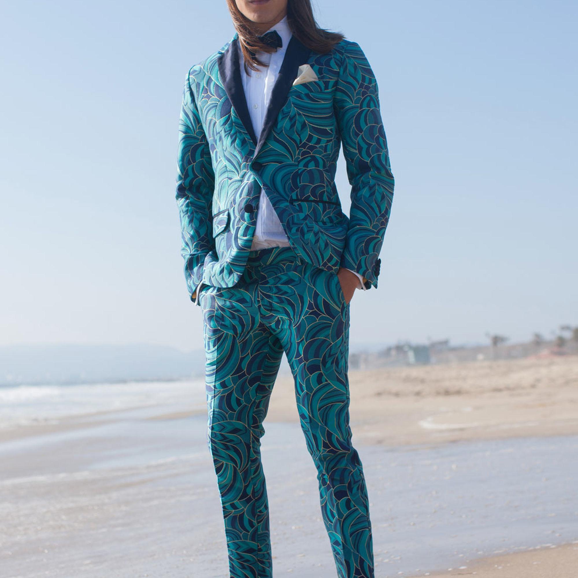 45e314508c7 Lyst - Mr Turk Clyde Slim Trouser in Blue for Men