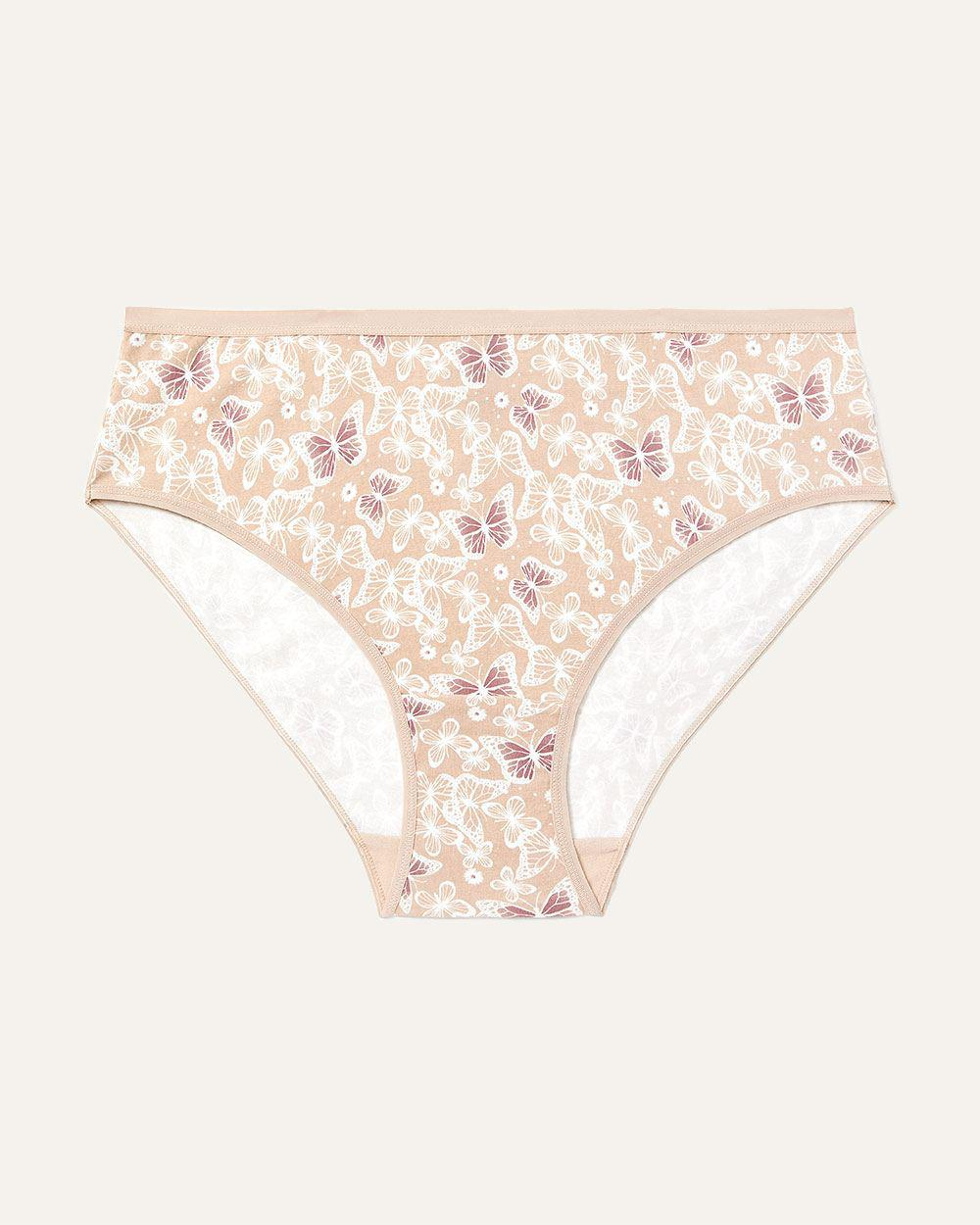 d1b2630b4 Lyst - Addition Elle High Cut Cotton Panty - Déesse Collection in White