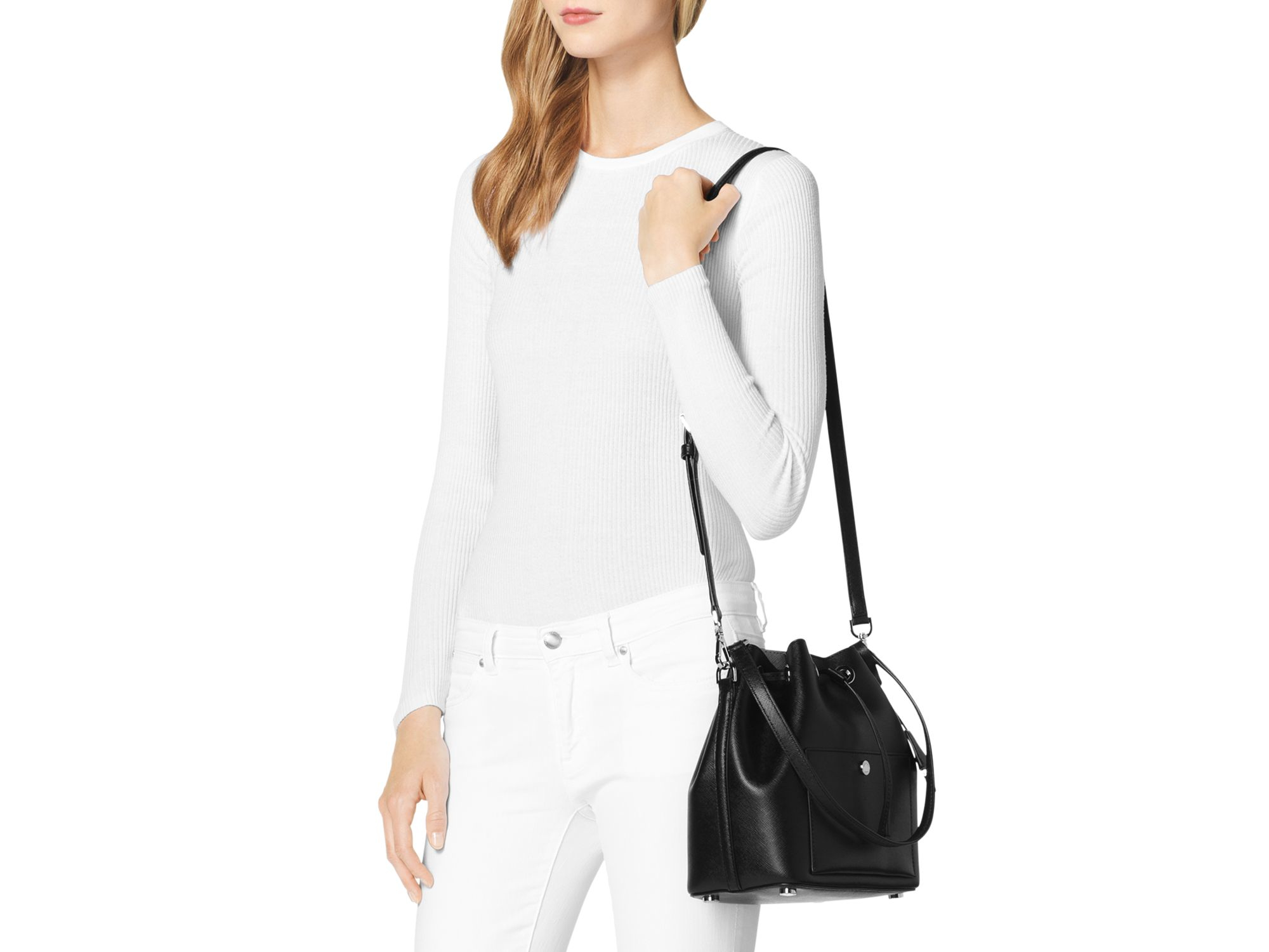84707a59b8cc Gallery. Previously sold at: Bloomingdale's · Women's Bucket Bags