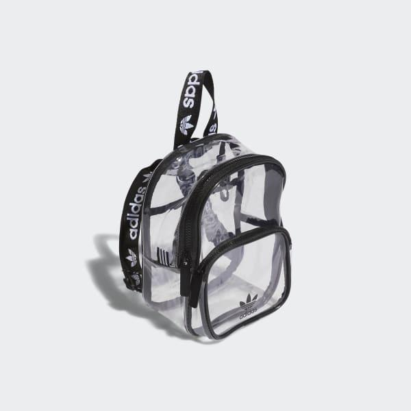 Lyst - adidas Clear Mini Backpack in Black ff6b8deb38f6b