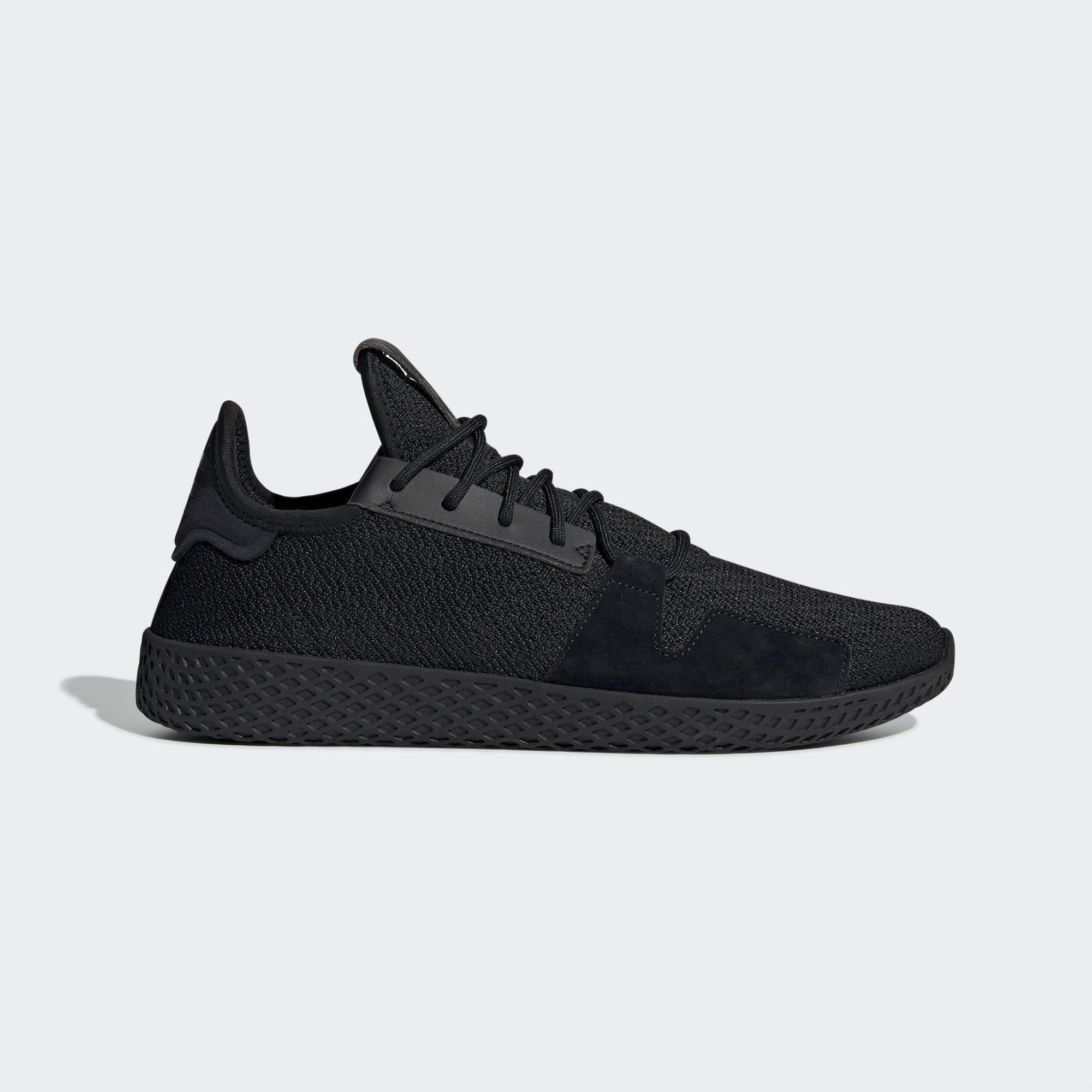 f7caac0bd adidas Originals Pharrell Williams Tennis Hu V2 Shoes in Black for ...