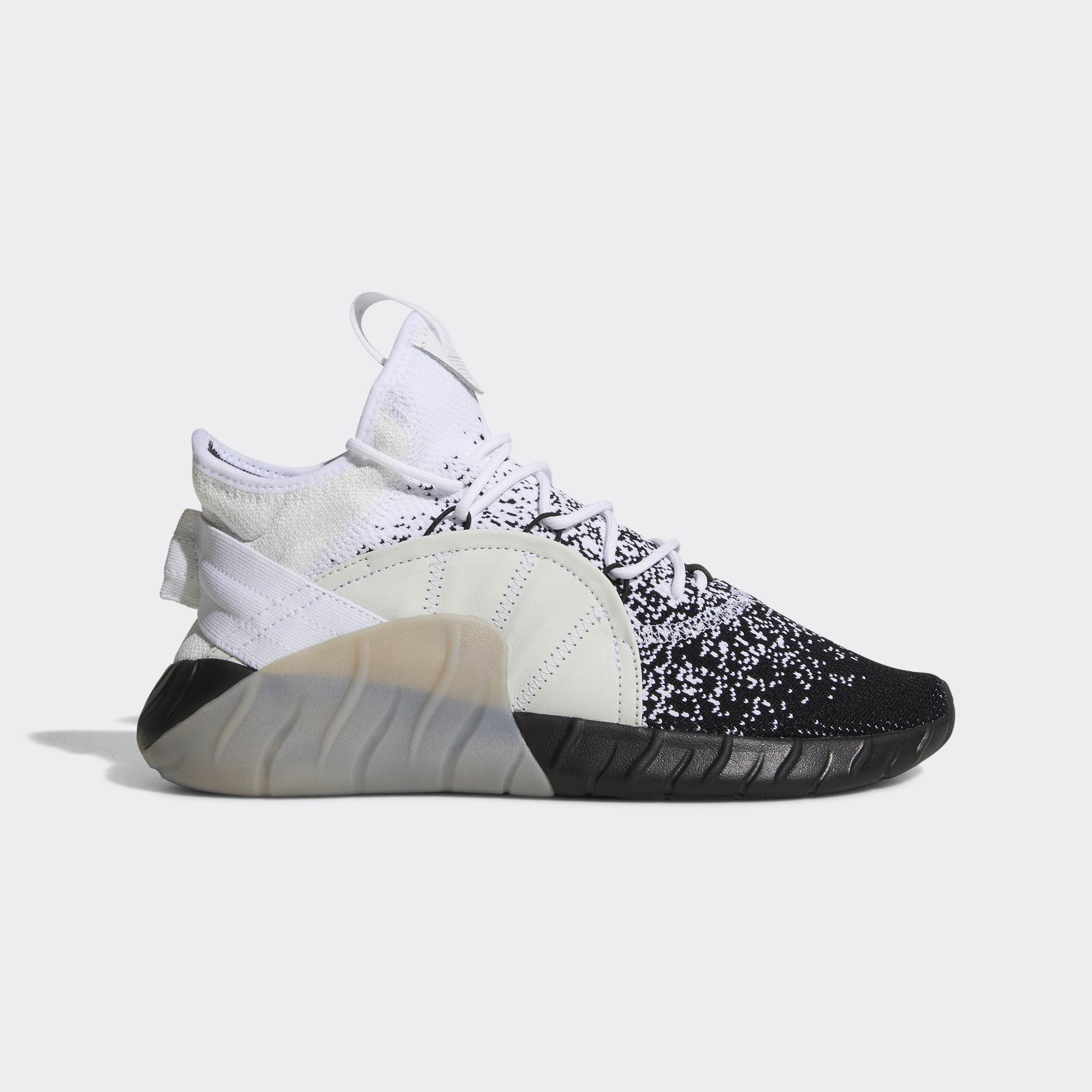 Adidas. Men's White Tubular Rise Primeknit Shoes