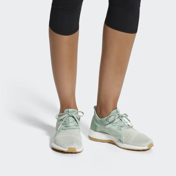 c16f539c27883 Adidas - Green Pureboost X Clima Shoes - Lyst. View fullscreen
