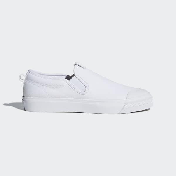 19807cebe71 Lyst - adidas Nizza Slip-on Shoes in White