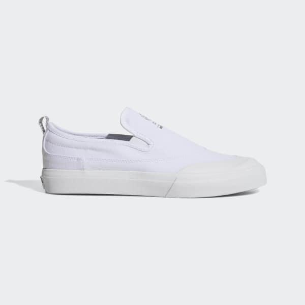 b658ebab2fd adidas Matchcourt Slip-on Adv Shoes in White - Lyst