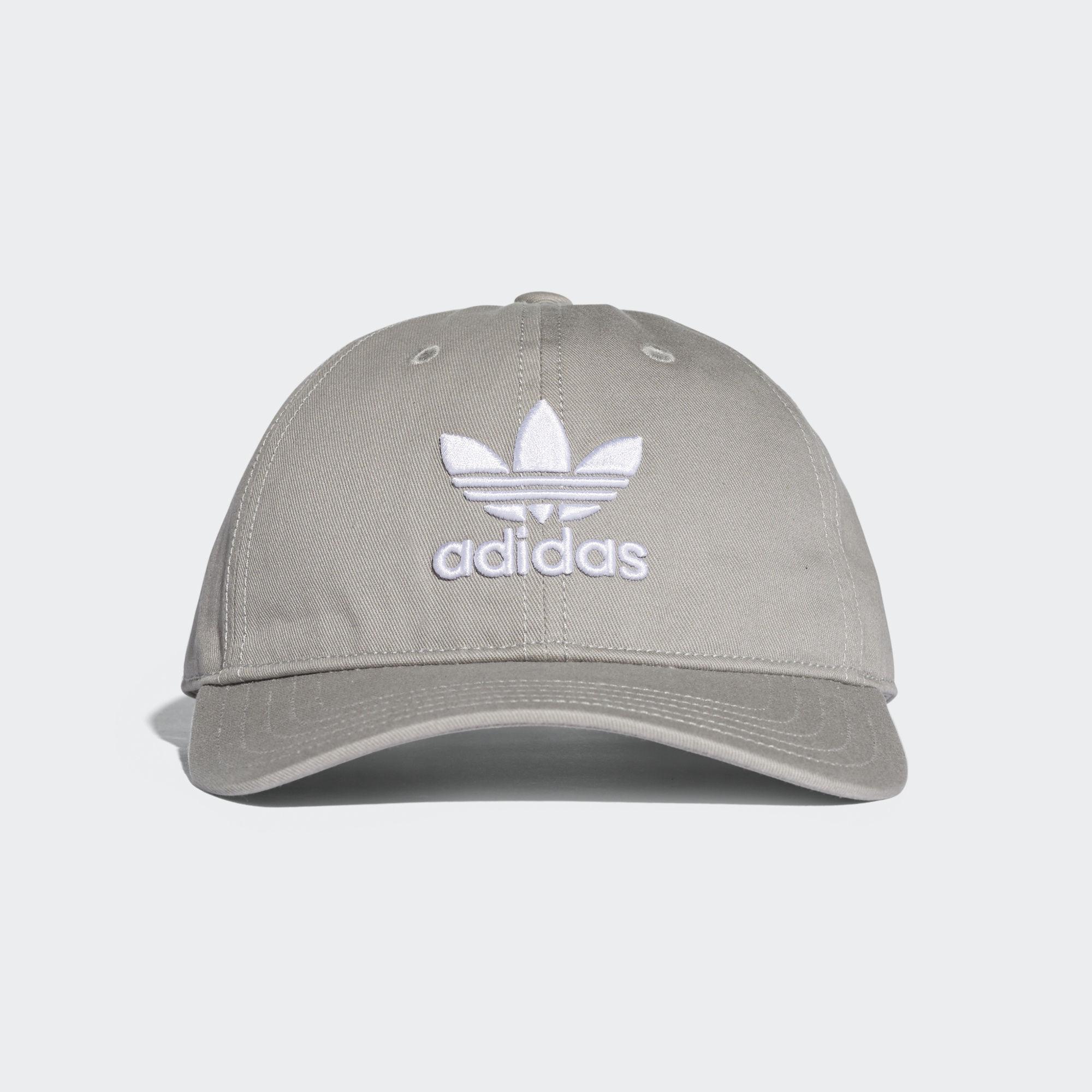 new product 085bb 9bb0f Adidas - Gray Trefoil Classic Cap - Lyst. View fullscreen