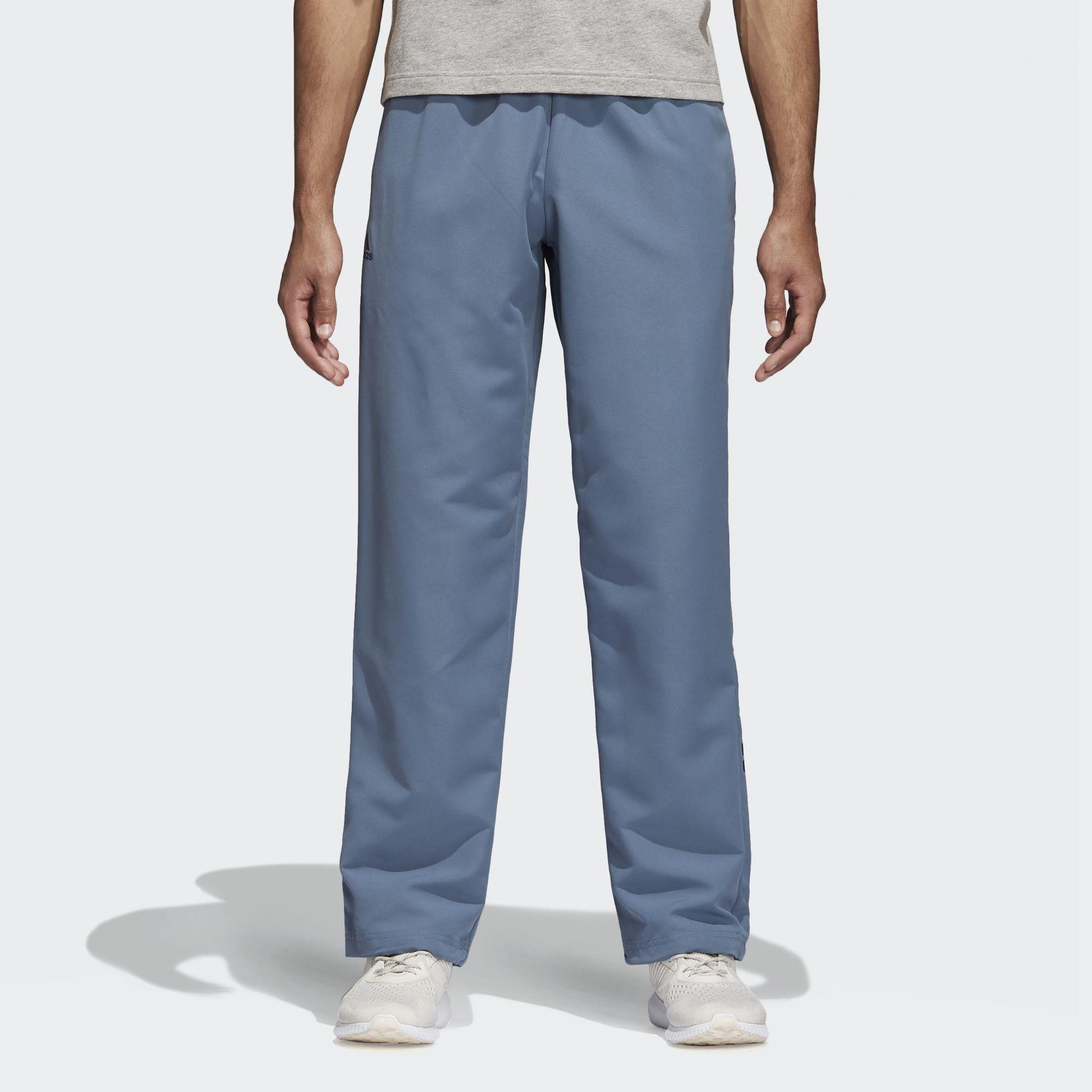 a8f7962d06c7 adidas Essentials Linear Stanford Pants in Blue for Men - Lyst