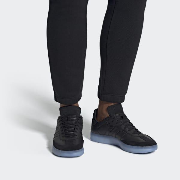 cfbe8159528 Adidas - Black Samba Rm Shoes for Men - Lyst. View fullscreen
