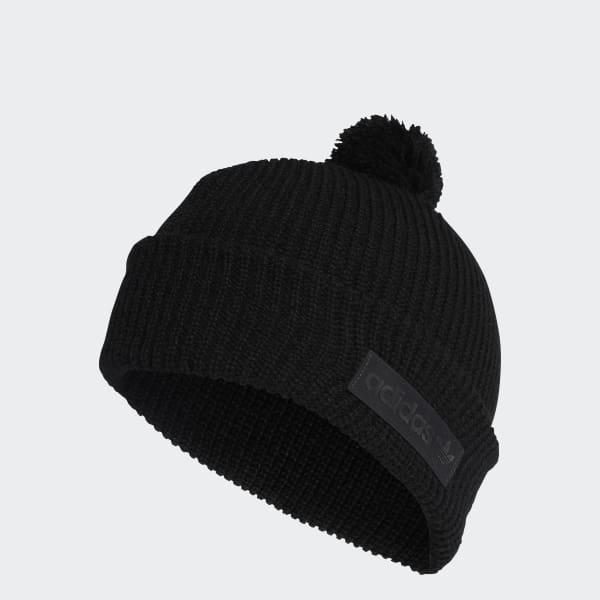 9f79d7b6c9d Lyst - Adidas Pompom Beanie in Black