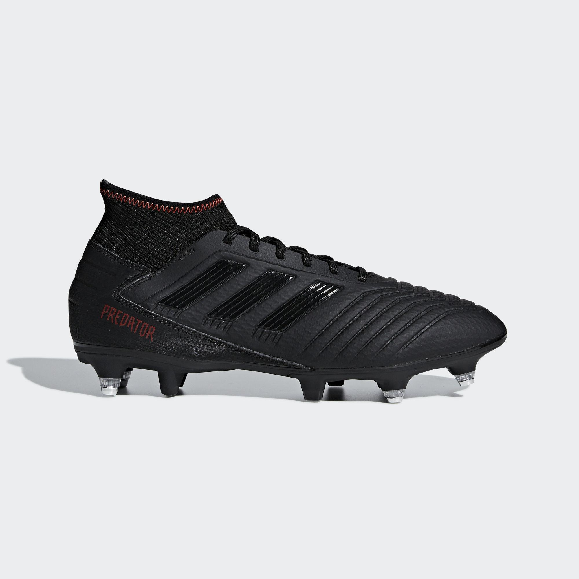 916596cd9293a adidas Predator 19.3 Soft Ground Boots in Black for Men - Lyst
