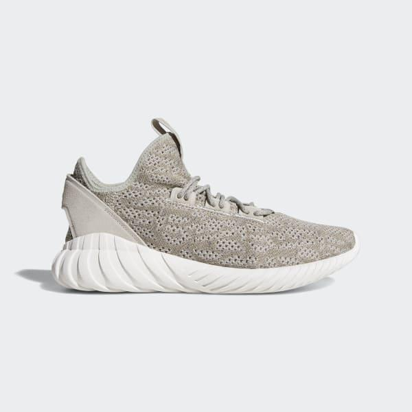 buy popular 4418c e4de2 adidas. Mens Gray Tubular Doom Sock Primeknit Shoes