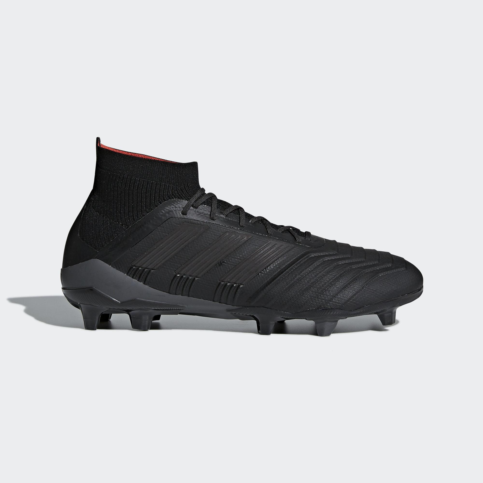 2db813ef1 adidas Predator 18.1 Firm Ground Boots in Black for Men - Save 51 ...