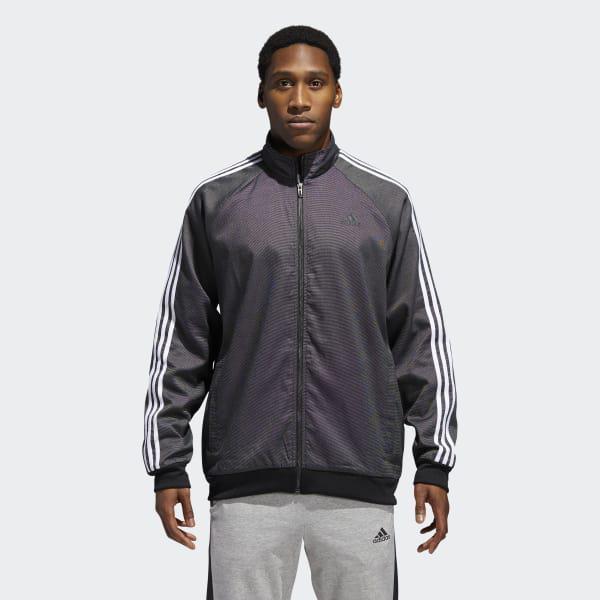 8cc1591a4b5 Lyst - adidas Essentials 3-stripes Tricot Jacket in Black for Men ...