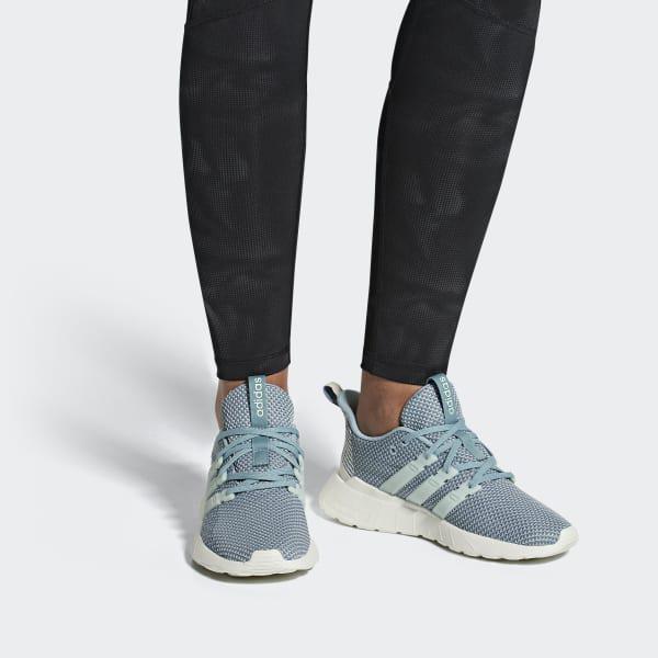 c57e3d7a7739 Adidas - Blue Questar Flow Shoes - Lyst. View fullscreen