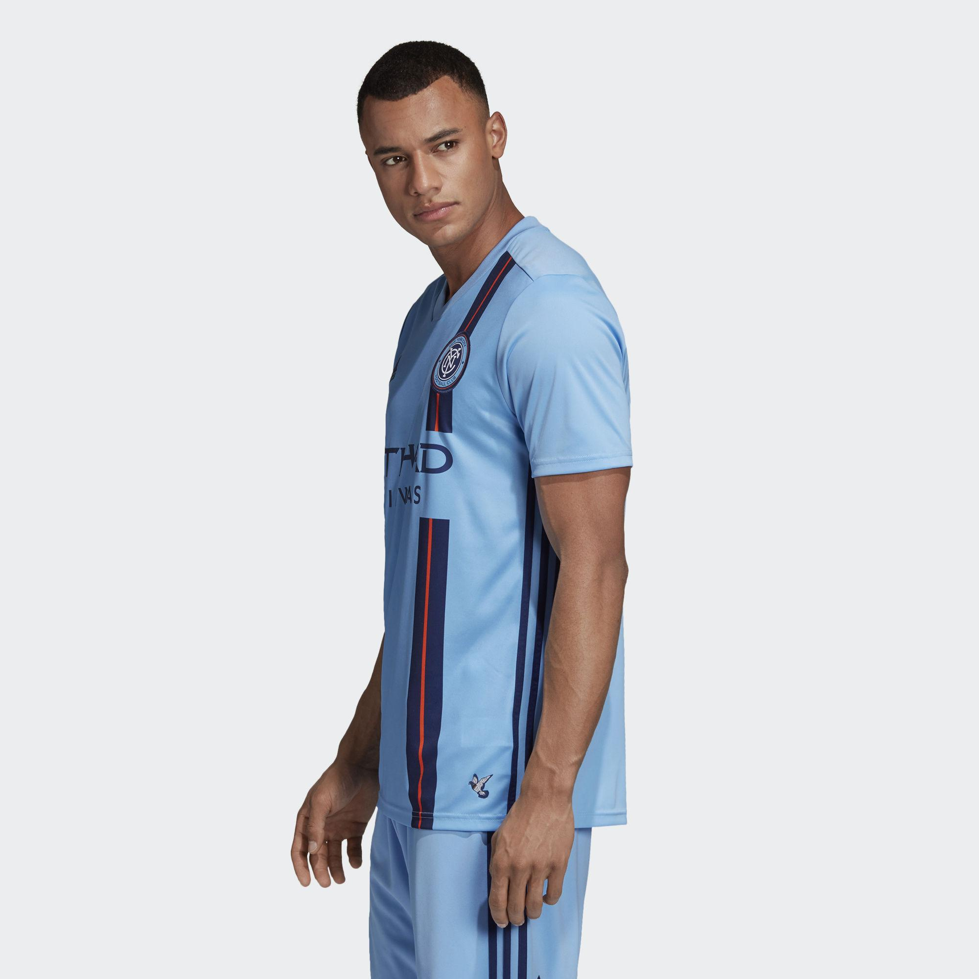 06af0fd007a Adidas - Blue New York City Fc Home Jersey for Men - Lyst. View fullscreen