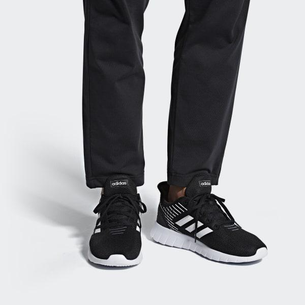 low priced 67d53 1ad65 Adidas - Black Asweerun Shoes for Men - Lyst. View fullscreen