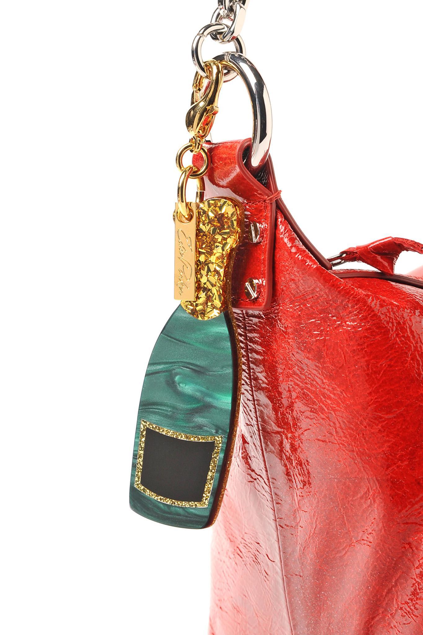 Edie Parker Champagne Bottle Bag Charm OZlwcbUmpz