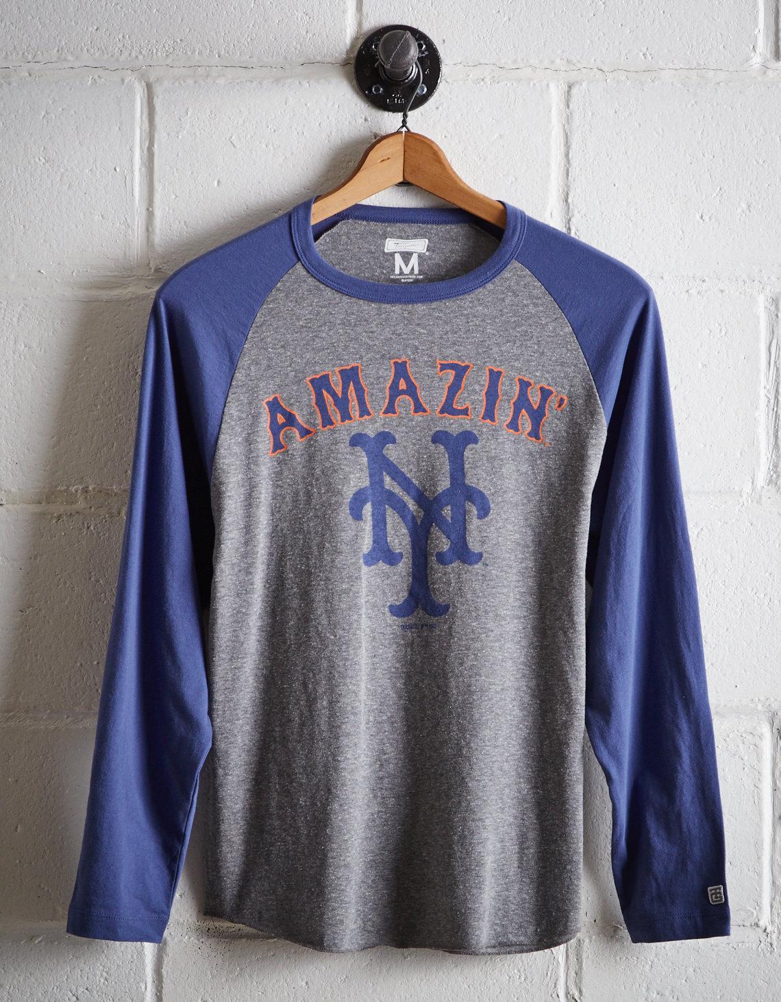 a6564fd7 Tailgate - Blue Men's New York Mets Baseball Shirt for Men - Lyst. View  fullscreen
