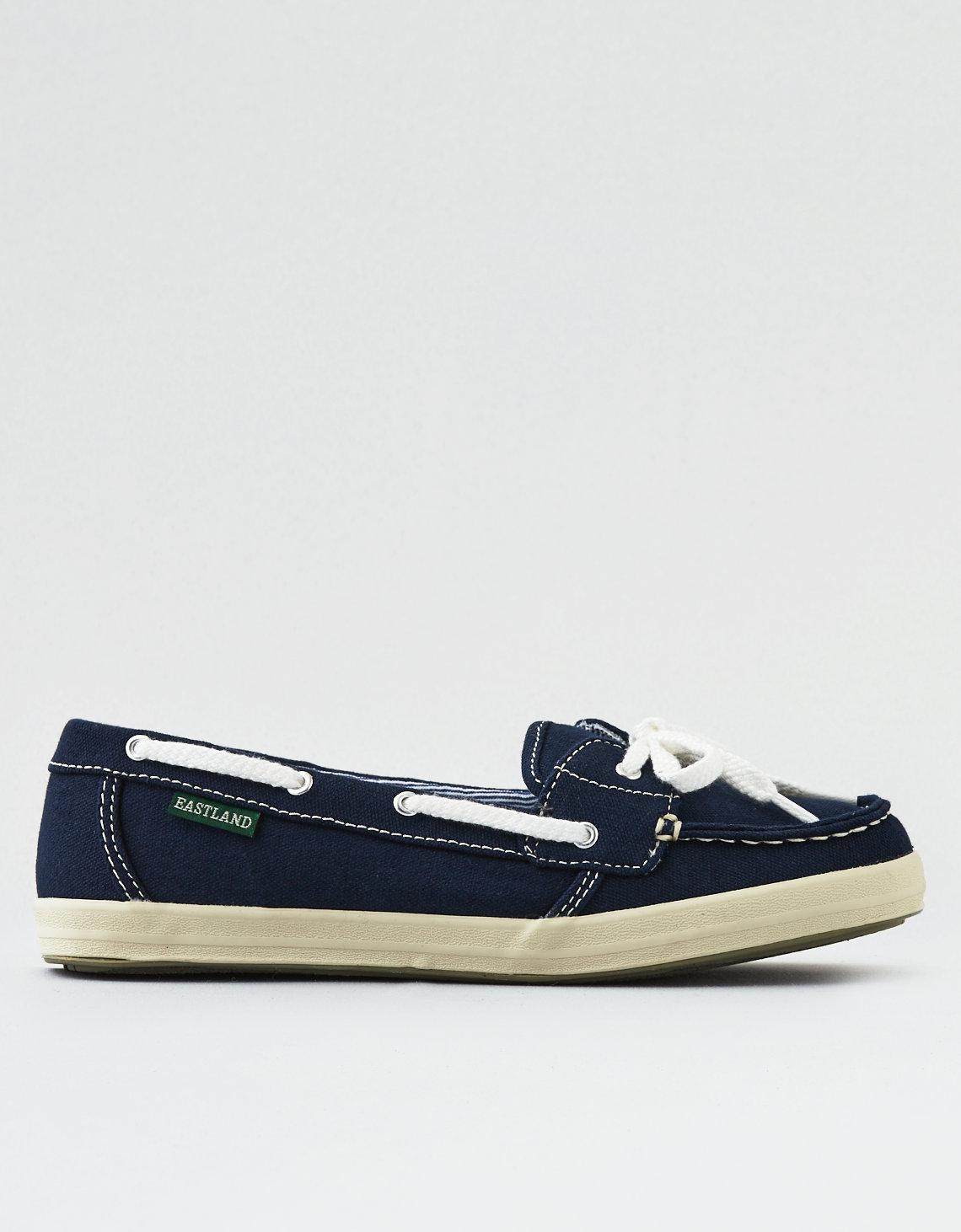 f7aa52572a3 Lyst - American Eagle Eastland Skip Boat Shoe in Blue - Save 3%