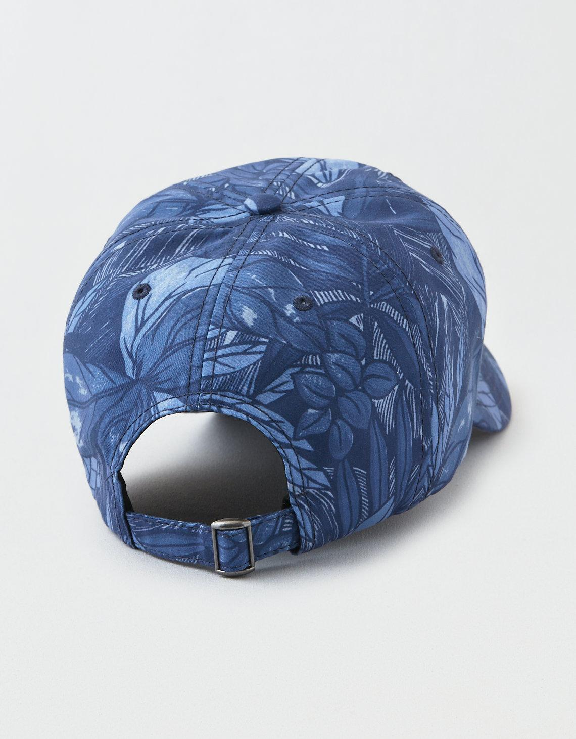 Lyst - American Eagle Ae Floral Baseball Hat in Blue for Men 77c575f68e0c