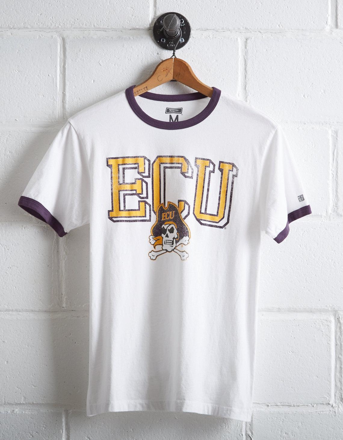 6d927e9f Lyst - Tailgate Men's Ecu Pirates Ringer T-shirt in White for Men